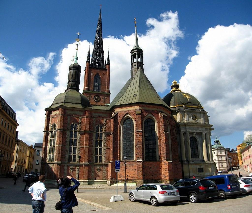 Gamla Stan - Riddarholmen Church