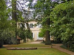 Maison de George Sand à Nohant-Vic (Indre).