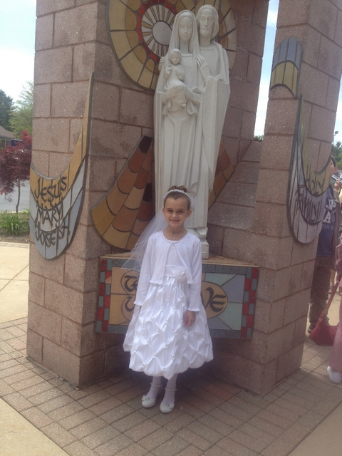 Karli's First Communion