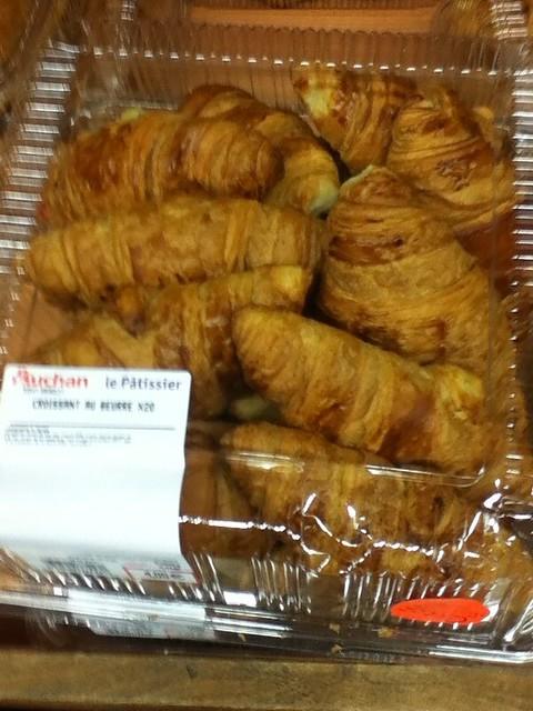 20个大牛角面包4欧元