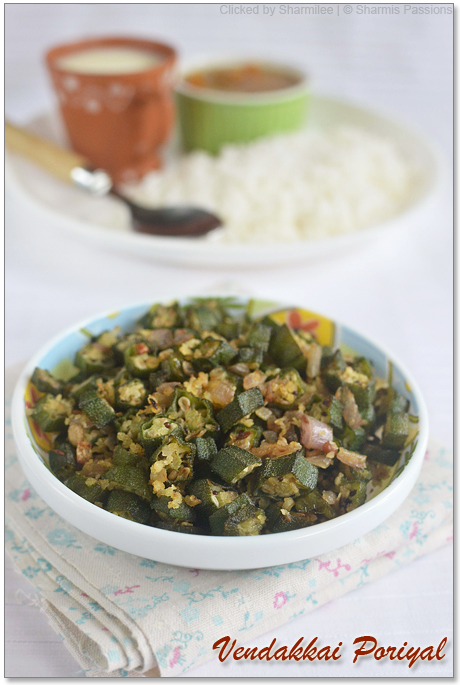 Okra / Bhindi Stir Fry Recipe