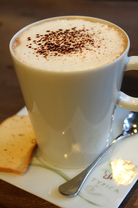 Typica Cafe - Coffee with Chocolate Milk