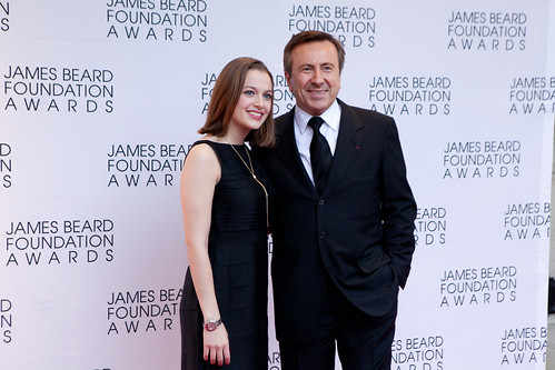 Chef Daniel Boulud and his daughter Alix