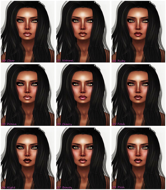 Amacci Skin - Mirelle (Ebony) - 00 Clear - 08 Posh