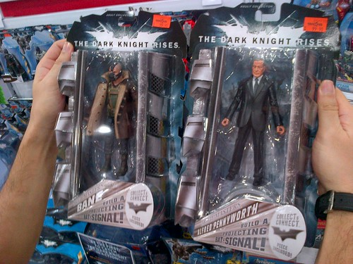 "Toy sighting: Movie Masters ""The Dark Knight Rises"""