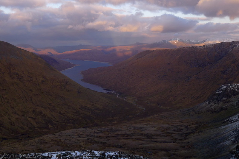 Loch Monar in the gloaming