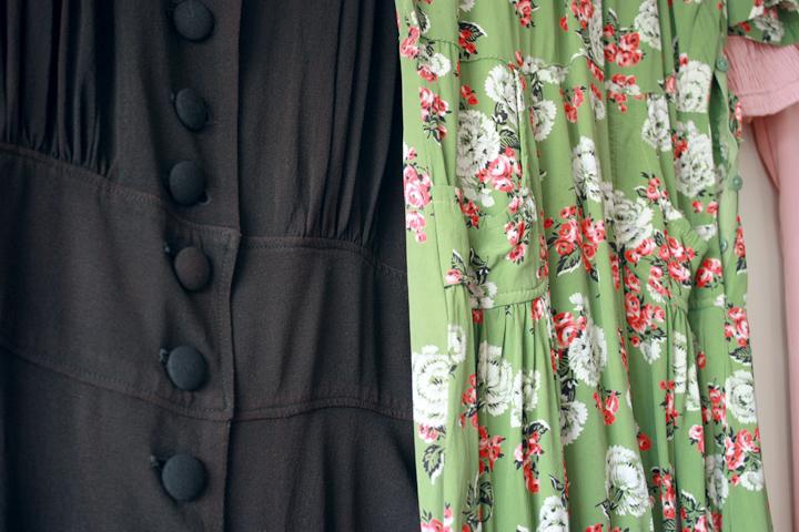 black green details