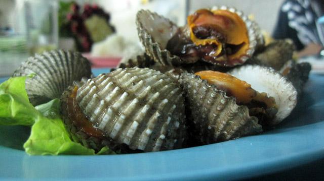 Hoy Kraeng (Blood Cockles) หอยแครง