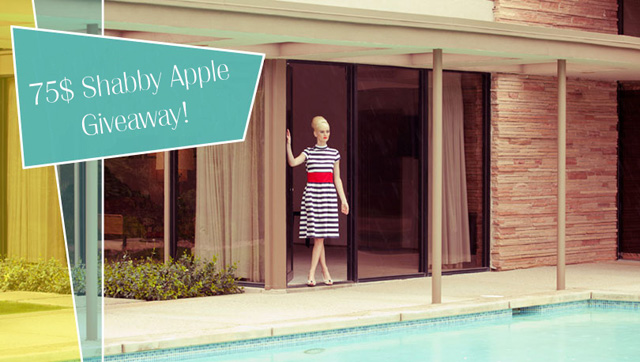 shabby apple 75$ giveaway