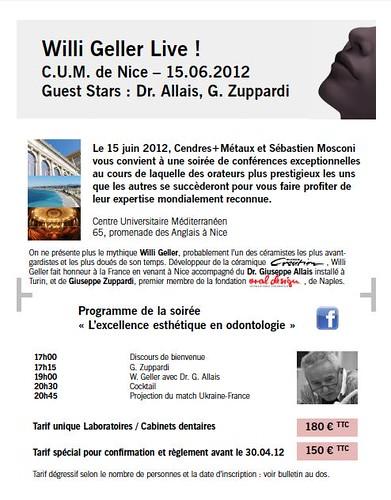 soirée Willi Geller (15/06/2012)