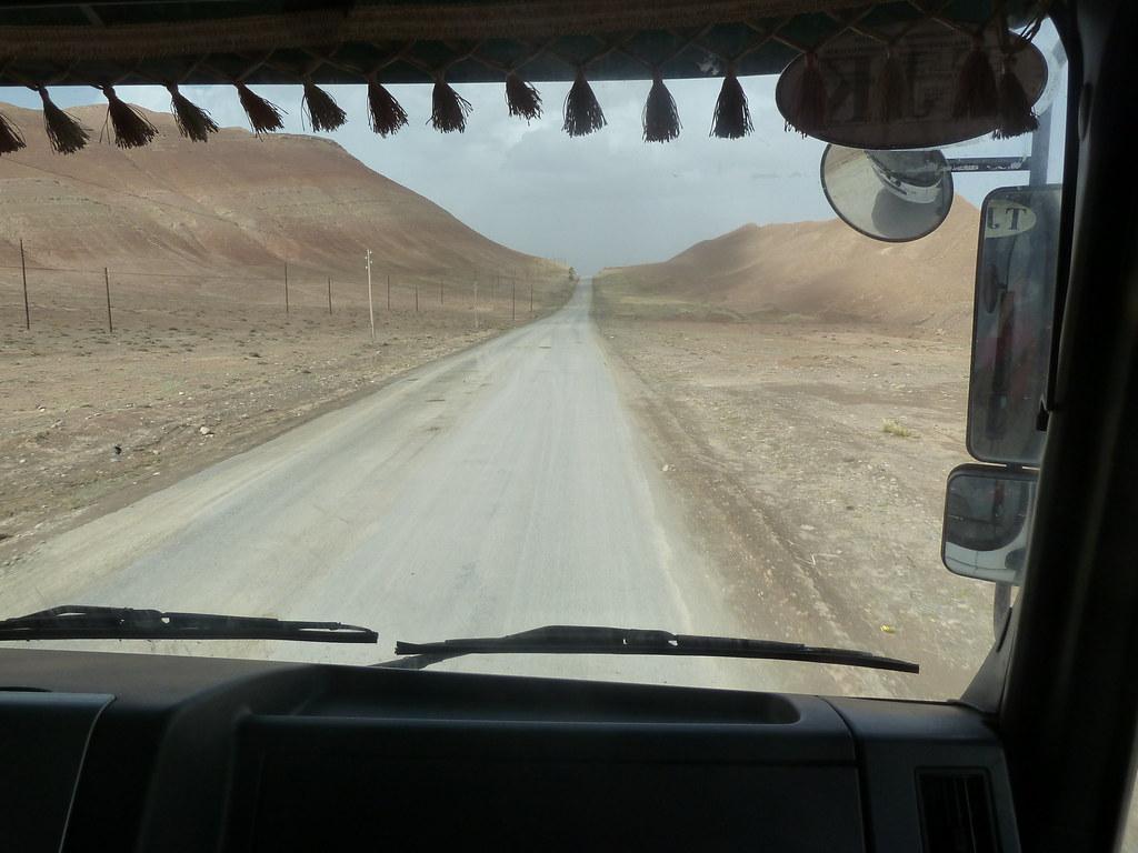 Al camió del Rahmat, Irkestan (Xinjiang, Xina)