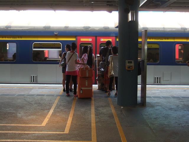 KCR train platform