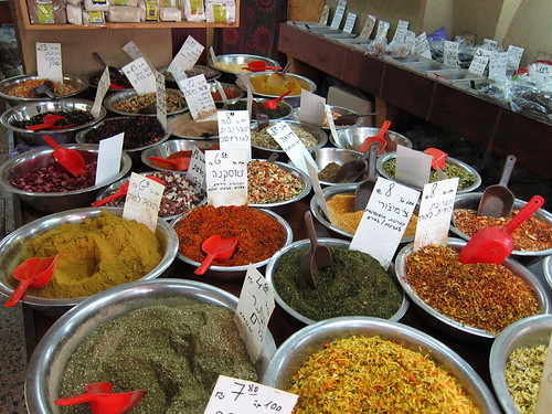spices at The World Spices