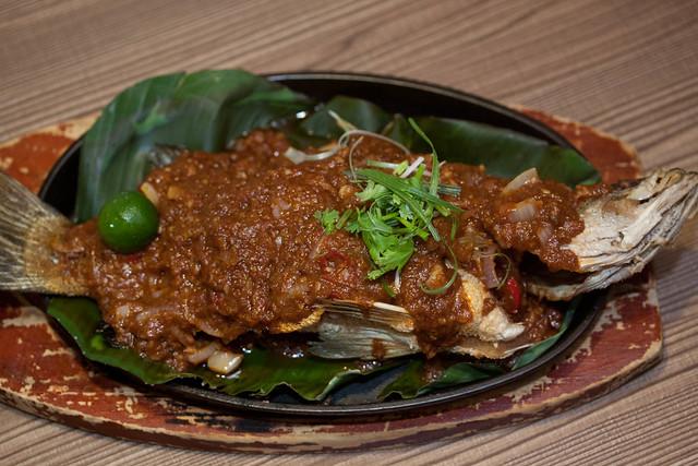 Sambal Seabass (Hot Plate) $25