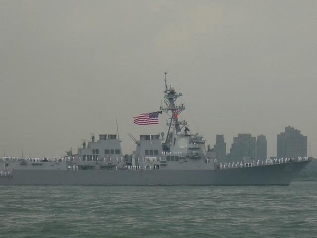 Fleet Week Parade of Ships, New York Harbor