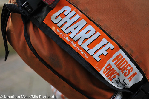 charlie hales bike sticker