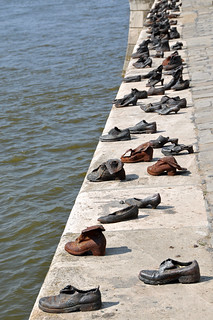 Hungary-0045 – Shoes on the Danube