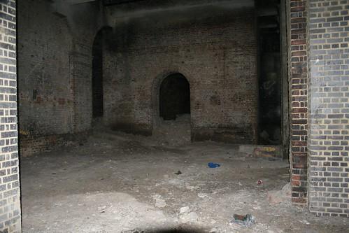 Under Smithfield Market railway