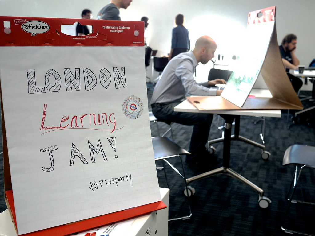 Mozilla London Learning Jam