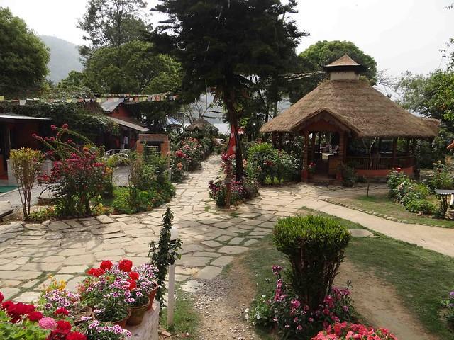 Beautiful Lakeside restaurant in Pokhara