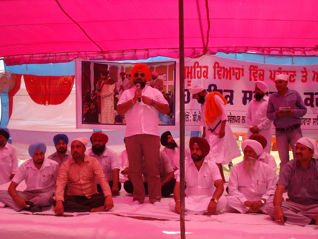 BJP Leader Punjab Sukhminderpal Singh Grewal in the marria