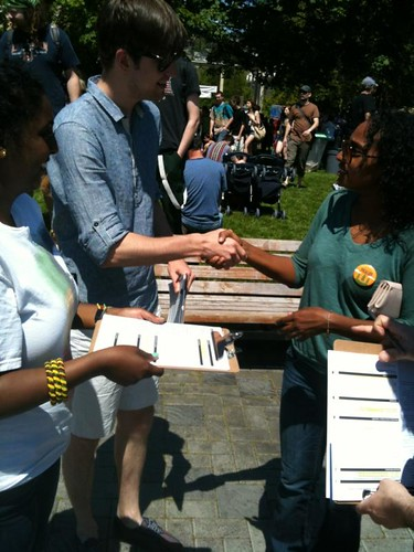 Volunteer training at #Folklife