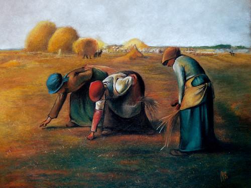 Des Glaneuses - J. F. Millet