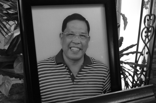Ma'am Gela's dad. RIP