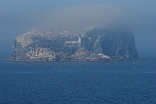 Bass Rock in the Fog 2