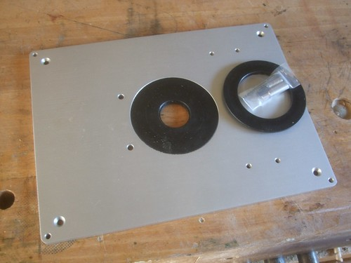 Axminster aluminium insert plate olly writes included with the plate greentooth