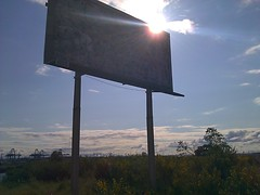 Advertisment With Rays