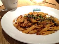 spaghetti(0.0), pappardelle(0.0), meat(0.0), produce(0.0), italian food(1.0), vegetarian food(1.0), pasta(1.0), penne(1.0), food(1.0), dish(1.0), carbonara(1.0), cuisine(1.0),