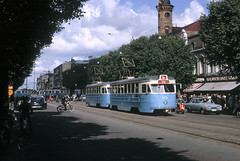 Tram in Gothenburgh 1963