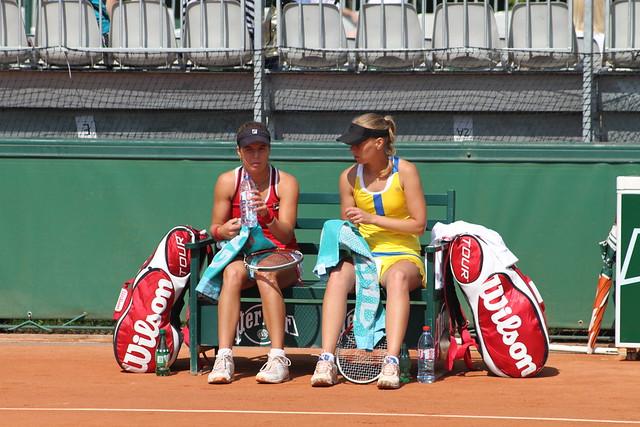 Darya Kustova and Anna Tatishvili