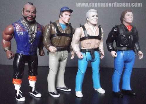 A-Team by Galoob group shot