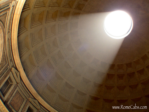 The Pantheon (Rome) on Seven Wonders of Ancient Rome with RomeCabs