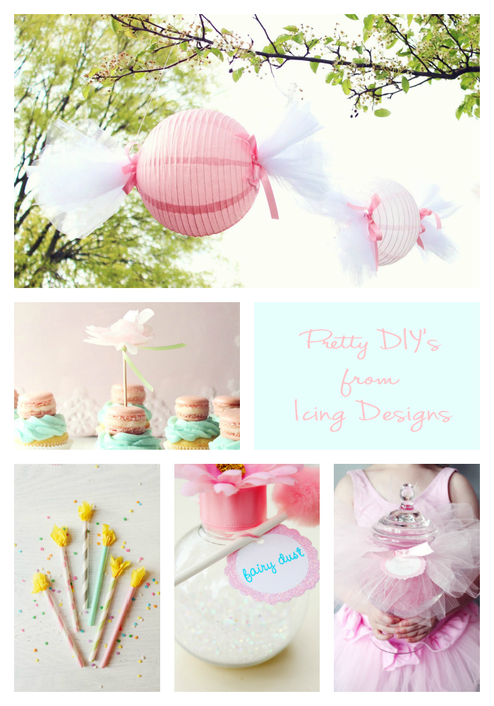 Pretty DIYs from icing designs