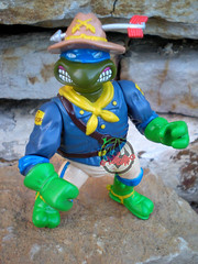 """MUTANT MILITARY 2"" TEENAGE MUTANT NINJA TURTLES ::  KOOKIE KAVALRY LEO xi (( 1992 ))"