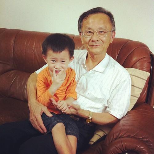 20120602 台南阿公來訪