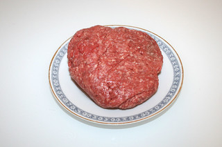 08  -Zutat Rinderhack / Ingredient ground beef