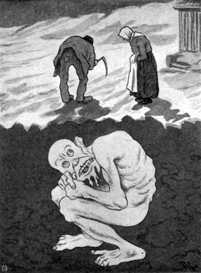 Theodor Kittelsen - folk og trold