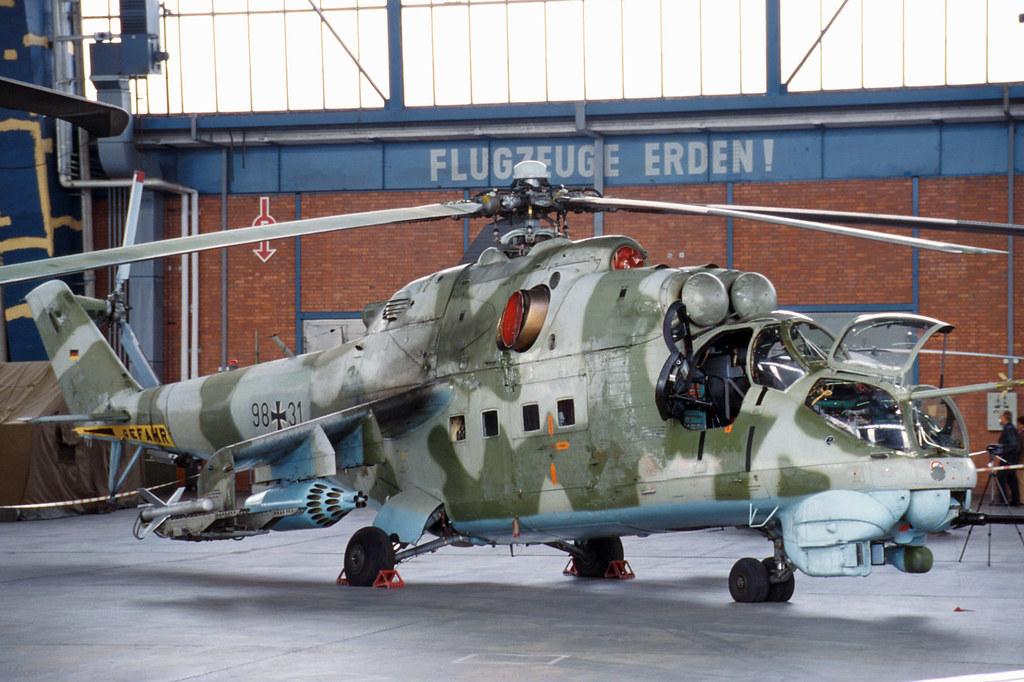 MIL MI-24D Hind Luftwaffe