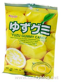 Kasugai Yuzu Gummy Candy