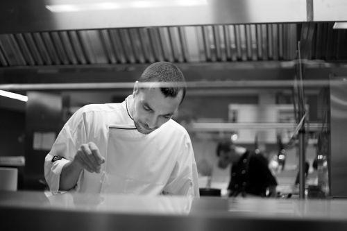 """Andrea Sposini, executive chef al ristorante panoramico """"là, cucina con vista"""" a Frascati"""