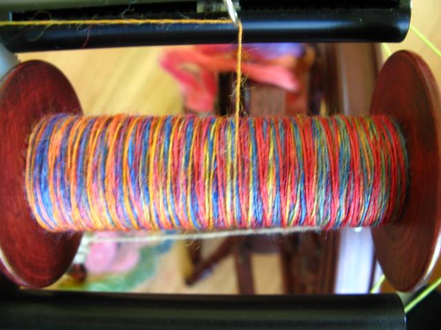 Spinning a rainbow