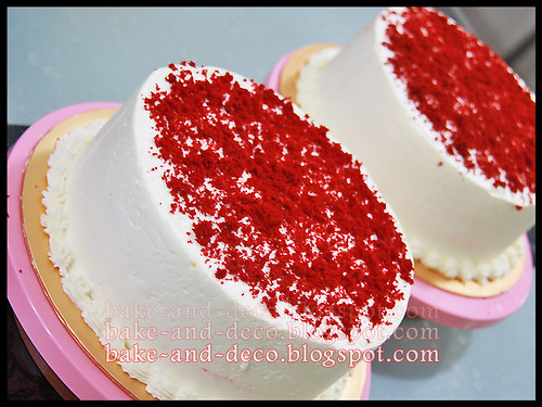 Red Velvet Cake (Fully Hands On) ~ 26 April 2012