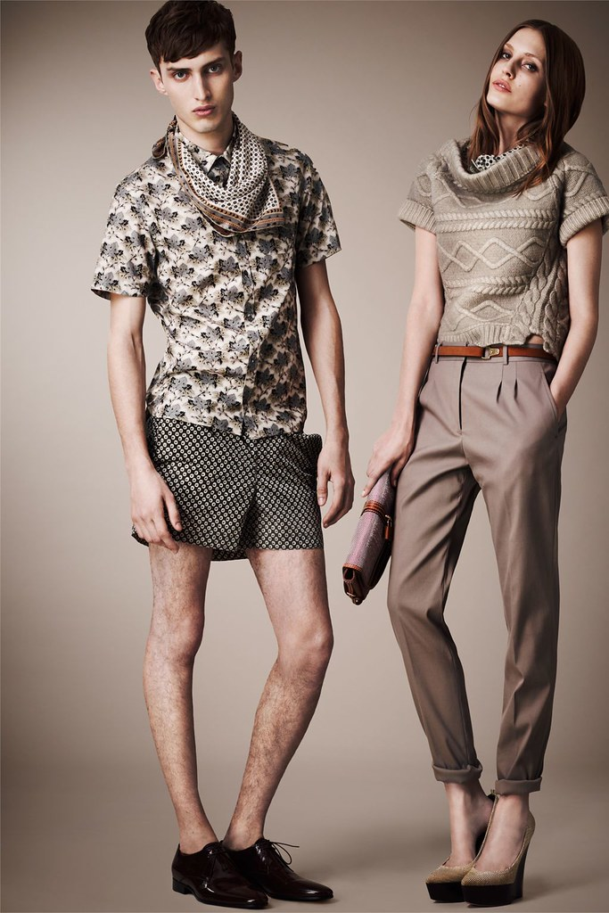 Charlie France0271_Burberry Prorsum's Pre-​​Spring 2013 Collection(Homme Model)