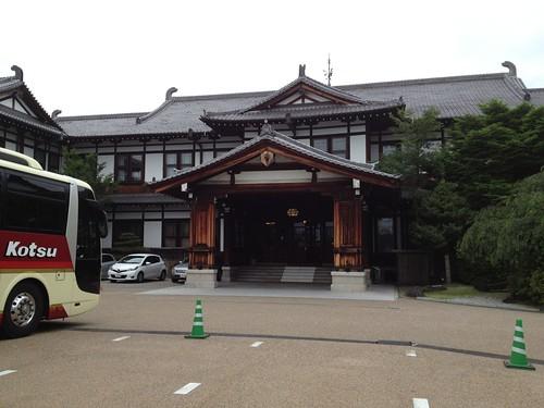 奈良ホテルの朝