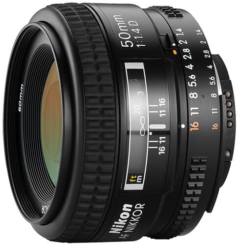 Nikon 50mm f/1.4D