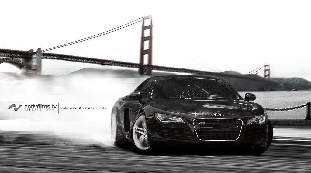 audi r8 in san francisco, ca | richard le | flickr